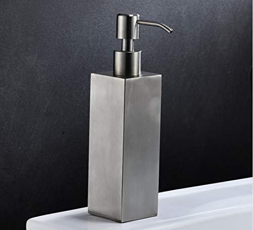 KYQ KYQXDB Badezimmer-Zubehör WC-Bad Seifenspender Dispenser Seifenspender Wand Hotel Bad Shampoo Duschgel Flasche Edelstahl Badezimmer Handseife Spender, S,V