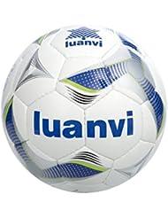 Luanvi Cup Ballon, homme, bleu royal/vert pistache, 62cm