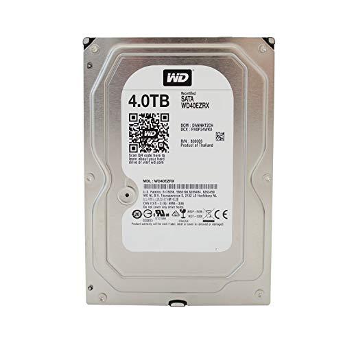 WD Caviar Green Desktop interne Festplatte 3,5 Zoll, 8,9cm, PC, HDD, NAS, IntelliPower, SATA-600, HDD - recertified, Kapazität:4.000GB (4TB) -
