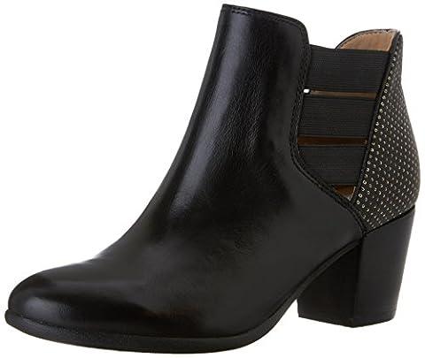 Geox D Lucinda B, Damen Klassische Stiefel, knöchelhoch , Schwarz - Schwarz - Noir (C9999) - Größe: 36