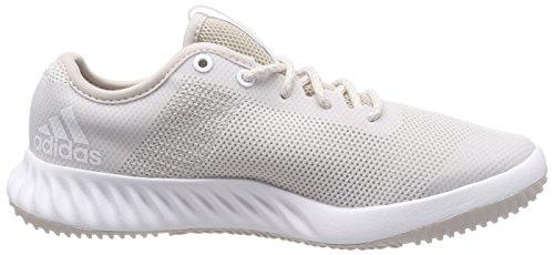 adidas Crazytrain Lt, Scarpe da Fitness Donna Beige (Chalk Pearl/footwear White/chalk Pearl)