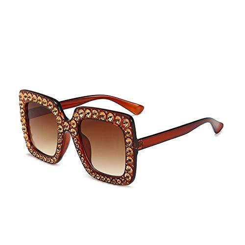 Fliegend Unisex UV400 Sonnenbrille Mit Brillenetui Herren Damen Polarisierte Sonnenbrille Mit Kristall Retro Vintage Brille Gespiegelte Linse Ultra Leicht