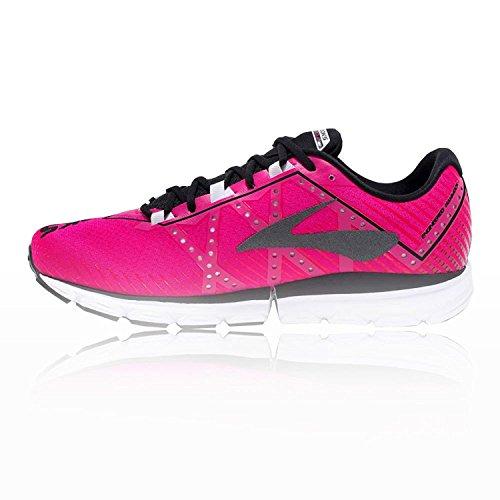 Brooks neuro 2, Chaussures de Course Femme Pink Glo/Black/White