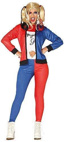Fancy Me Damen Gedreht Truppe Mädchen TV Comic Film Cosplay Konvention Halloween Horror Kostüm Kleid Outfit - Blau/Rot, UK 14-16