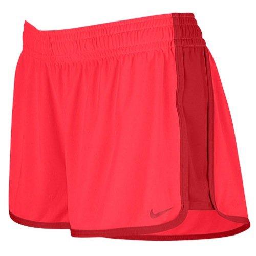 Nike Womens Dri-Fit Fly Knit Training Shorts-RedReef-Medium -