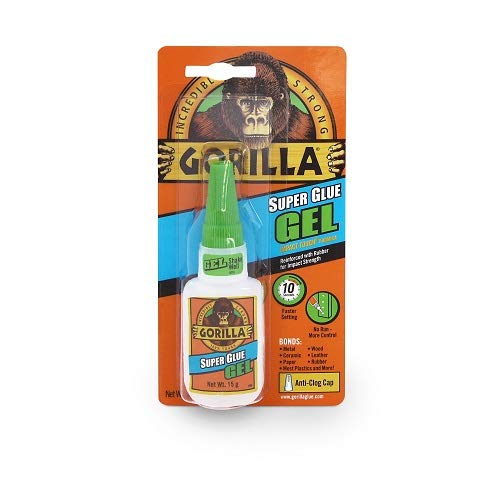Gorilla 4044400 Superglue Gel 15...