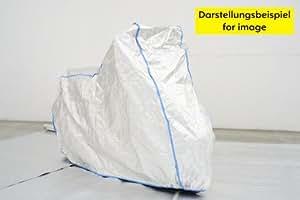 garage de moto- housse de moto SUZUKI MARAUDER GZ 125 sans accessoires excl. de TYVEK couleur blanc - avec un sac