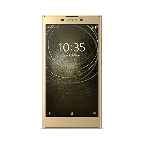 "Sony Xperia L2 - Smartphone con Pantalla 5,5"" HD (4G, Doble Nano sim, 32 GB, Foto de 13 MP), Color Oro"