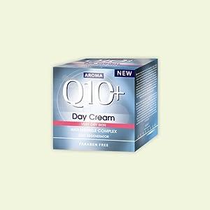 Aroma Q10 Plus Crema de día antiarrugas para piel muy seca, 35 Plus, 50 ml