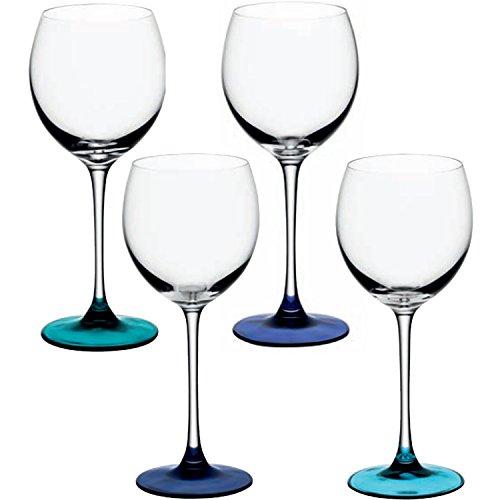 LSA Coro - Set 4 bicchieri da vino 400ml,