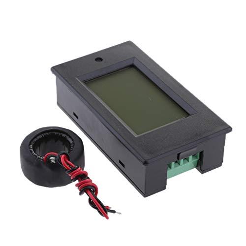 D DOLITY Medidor Digital de Voltaje Corriente Potencia Energía Multiuso Pantalla de LCD, 80~260V AC, 50 / 60HZ Rango de 0~100A