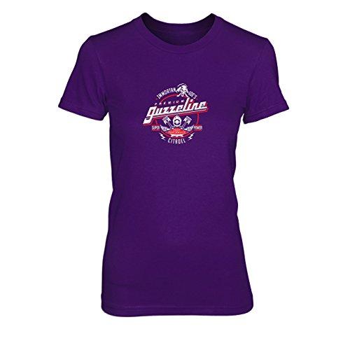 Kostüm Max Mad Shirt - Immortan Joe's Premium Guzzeline - Damen T-Shirt, Größe: XL, Farbe: lila
