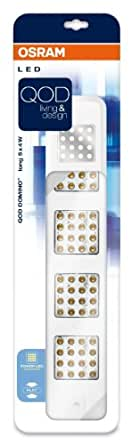 Osram 73261 Luminaire pour meuble QOD Domino Long Blanc 5 x 4 W