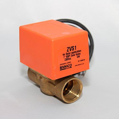 2Port Solar 1BSP Weiblich Motorisiertes Zonenventil ACTUATOR Solar Thermo-Systemen (Ventil-endschalter)