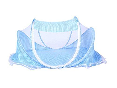 HJXJXJX Baby Moskitonetze, Jurten haben eine Reihe von tragbaren faltbaren Baby Moskitonetze , blue - Moskitonetz Faltbaren