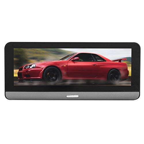 Mugast 7 Zoll Auto Recorder,HD Bluetooth Dual Netzwerk Center Konsole Auto DVR Recorder mit Fernüberwachung Echtzeitüberwachung Auto Assistent Herunterladen Real View Navigation -