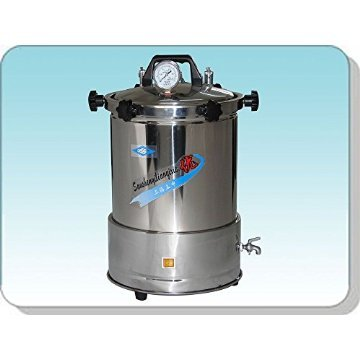 Tragbare Tatoo Autoklaven, Hochdruckdampf-Sterilisator Autoklav 18L Test