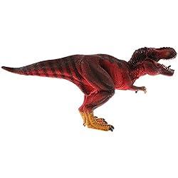 B Blesiya Juguete de Dinosaurio Realista Figura de Criaturas Prehistóricas en Miniatura Animal de Simulación Artesanía Decorativa de Hogar - tiranosaurio rex
