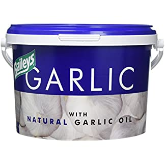 Bailey's Unisex's Garlic Supplement 1kg, Clear 41noJyG21nL