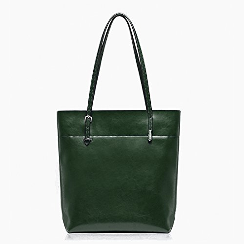 Jieway, borsetta a spalla di alta qualità, da donna, in similpelle Green