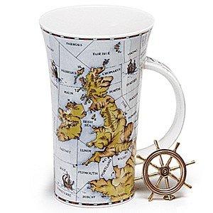 Dunoon en porcelaine en forme de tasse Glencoe - Shipping Forecast