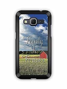 YuBingo Family is Forever Designer Mobile Case Back Cover for Samsung Galaxy Core Prime