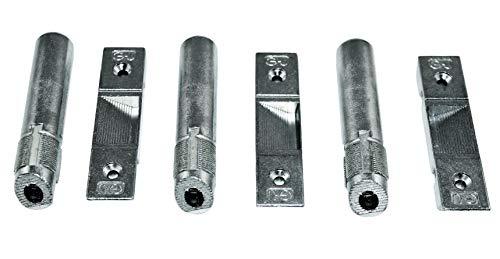 GU Aushebesicherung/Bandsicherung / Scharnierseitensicherung K-14748 für die Bandseite (3er Set)