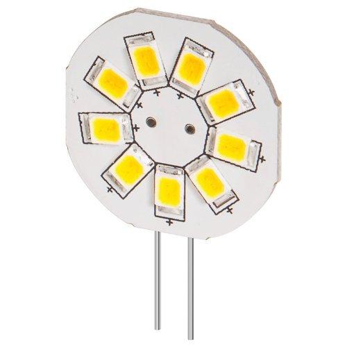 LED Einbaustrahler 1,5 W Sockel G4, ersetzt 16 W, 130 Lumen kalt-weiß - 4 Stück