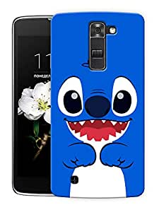 "Humor Gang Cute Cartoon Printed Designer Mobile Back Cover For ""LG K7"" (3D, Matte Finish, Premium Quality, Protective Snap On Slim Hard Phone Case, Multi Color)"