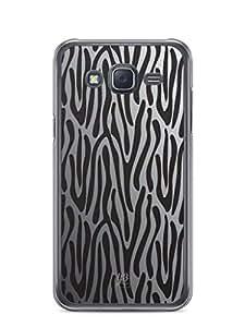YuBingo Zebra Stripes Mobile Case Back Cover for Samsung Galaxy J5