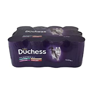 Duchess Complete Meat Selection in Jelly Wet Cat Food, 12 x 400 g 16