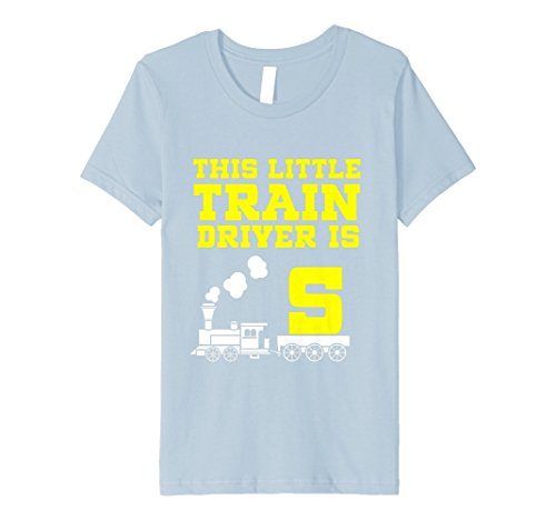Kinder 5th Birthday Girls Train T Shirt Tank Engine 5 Year Old