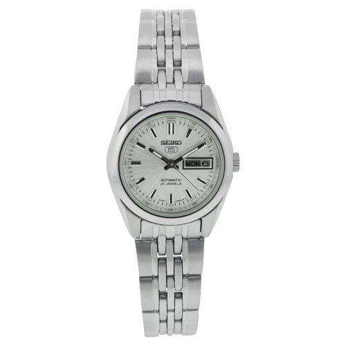 Seiko Damen-Armbanduhr 5 Lady Analog Automatik Edelstahl SYMA27K1