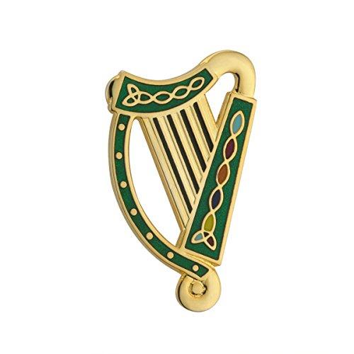 gold-plated-harp-design-tara-brooch