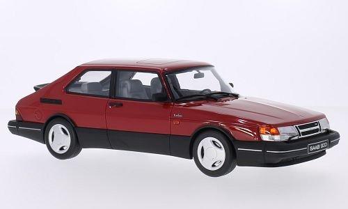 saab-900-turbo-16v-aero-rot-modellauto-fertigmodell-ottomobile-118
