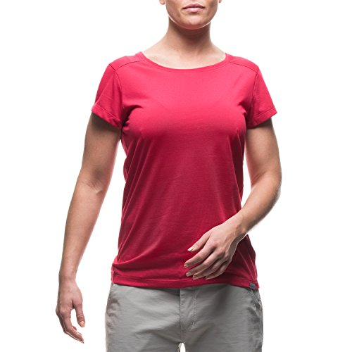 Houdini W's Rocksteady T-shirt pour femme avec message imprimé Amaranth Pink