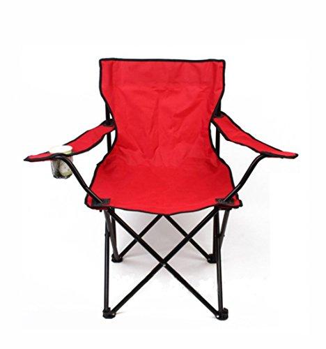 TC_wss Portable Outdoor Sessel Klappstuhl Strand Stuhl Angeln Stuhl