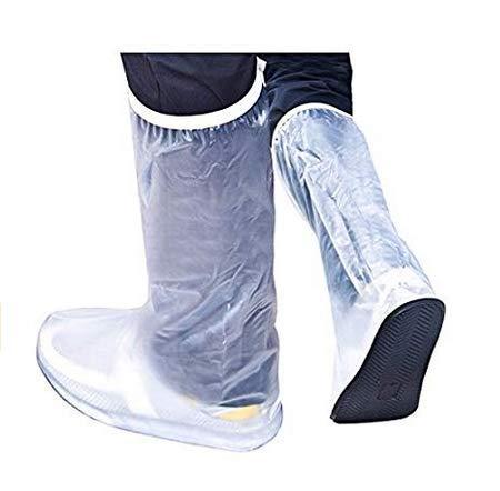 PANGUN Männer Frauen Regen Schuhe Decken Wasserdichte High Boots Flats Rutschfeste Overshoes Regen Gear-M