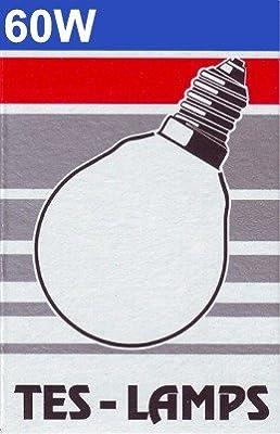 1x TESLAMP Kugellampe AT / 60W / 230 V / E14 / matt von Teslamp bei Lampenhans.de