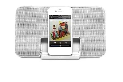 Gear4 StreetPArty Size 0 Enceinte Station D'Acceuil Portable pour iPod et iPod - Gris - Livrée avec Prise Anglaise et Française par Gear4