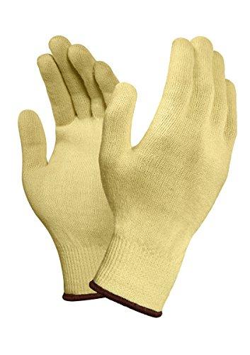 Ansell Neptune Kevlar 70-205 Schnittschutz-Handschuhe, Mechanikschutz, Gelb, Größe 10 (12 Paar pro Beutel)