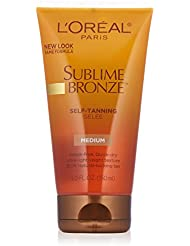 LOreal Sublime Bronze Self-Tanning Gel - Medium-Deep (150ml)