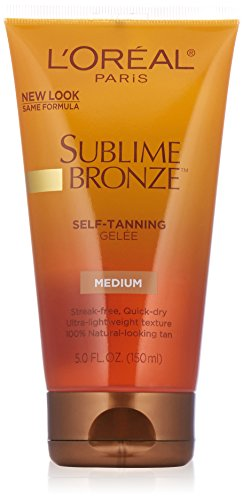 LOreal Sublime Bronze Self-Tanning Gel - Medium-Deep (150ml)