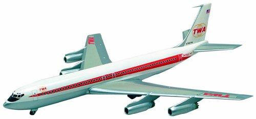 minicraft-14651-modellino-aereo-twa-boeing-707-331-scala-1144-plastic-kit