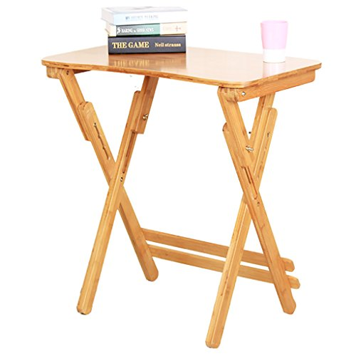 Bambus Klapptisch Hubtisch Tisch tragbaren Rack