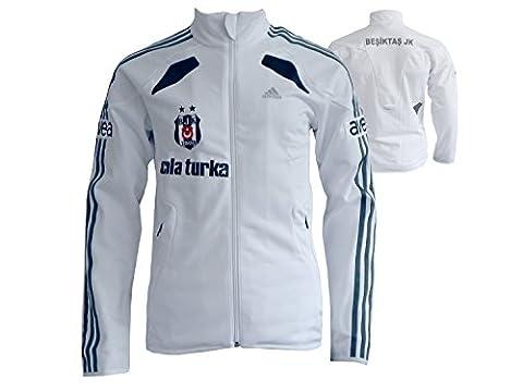 adidas Besiktas Istanbul 365 TrackTop / BJK Training Jacke weiß