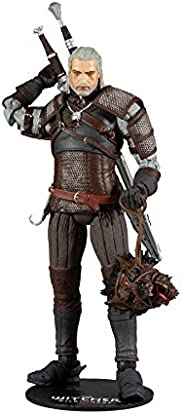 McFarlane - Witcher Gaming 7 Figures 1 - Geralt Of Rivia