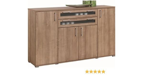 Kommode Sideboard Aktenschrank Schrank Mod.K409 Noce Morgana: Amazon ...