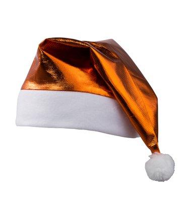 Nikolausmütze glänzend (Baum Kostüm Kopfbedeckung)