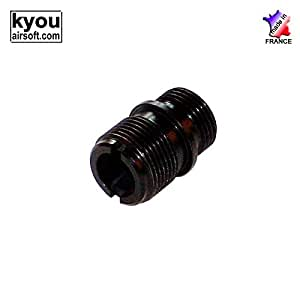 Kyou Airsoft 6mm - Adaptator silencer (-14) for ASG CZ75